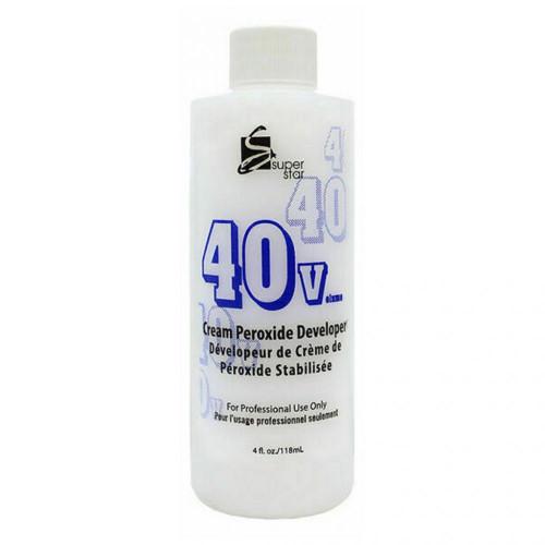 Super Star Cream Peroxide Developer 40 Volume 4oz