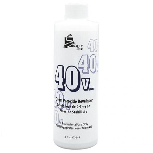 Super Star Cream Peroxide Developer 40 Volume 8oz