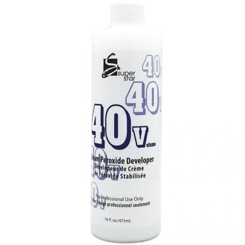 Super Star Cream Peroxide Developer 40 Volume 16oz