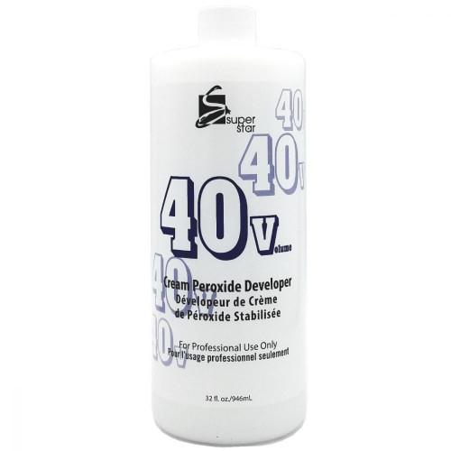 Super Star Cream Peroxide Developer 40 Volume 32oz