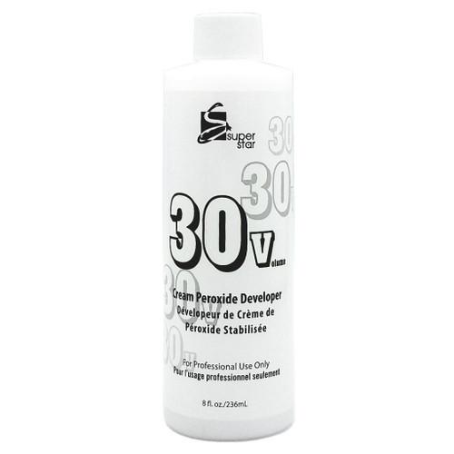Super Star Cream Peroxide Developer 30 Volume 8oz