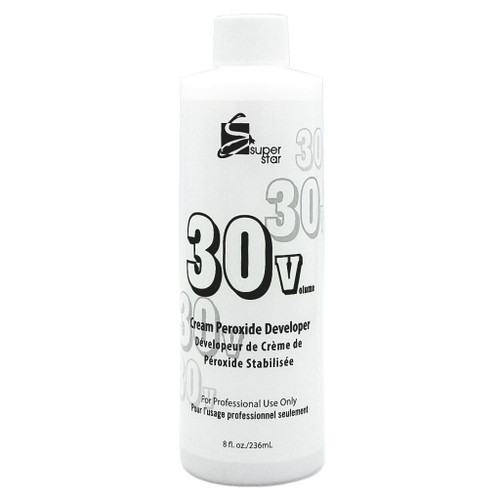Super Star Cream Peroxide Developer 30 Volume 4oz