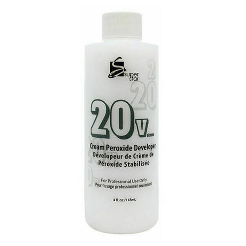 Super Star Cream Peroxide Developer 20 Volume 4oz