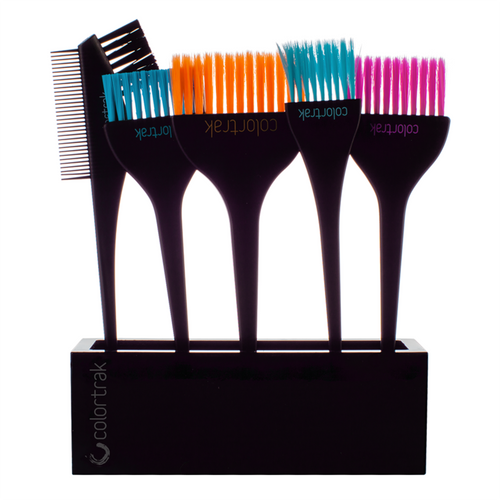 Colortrak  Brush Set and Holder