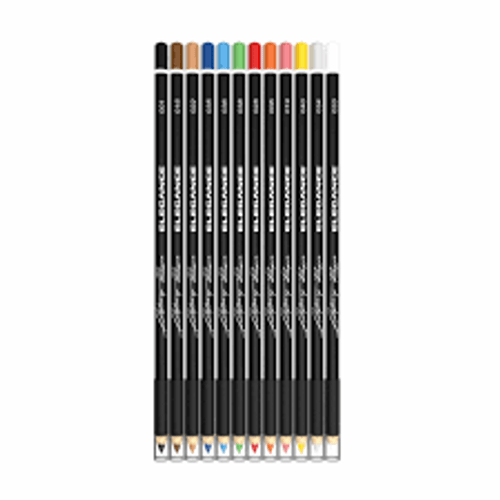 Elegance Liner Pencils - 12 Pack - Assorted Colors
