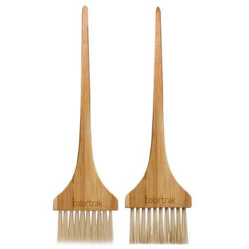 Eco Collection 2pk Bamboo Brushes  7022