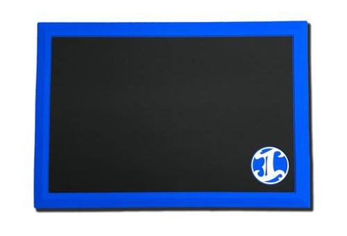 IBC Tapered Workstation Mat Blue Border