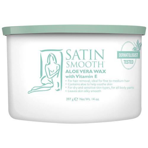 Satin Smooth Aloe Vera Wax  14oz.