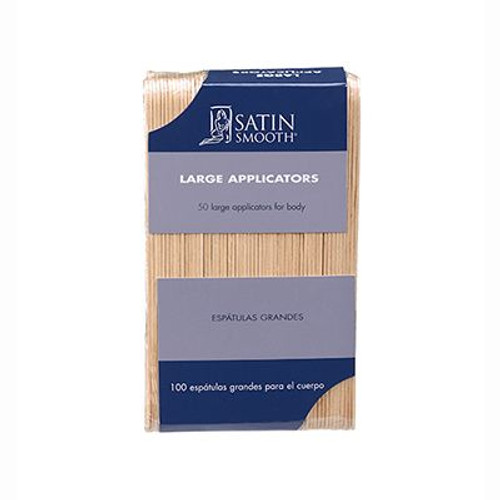 Satin Smooth Large Applicators, 100 Pack