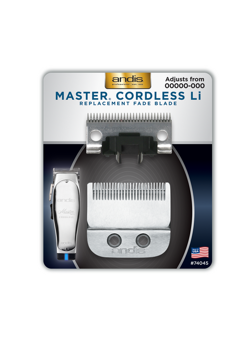 Andis Master Cordless Li Replacement Fade Blade #74045