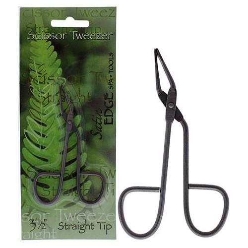 Scissor Tweezer Straight Tip 3.5 Inch