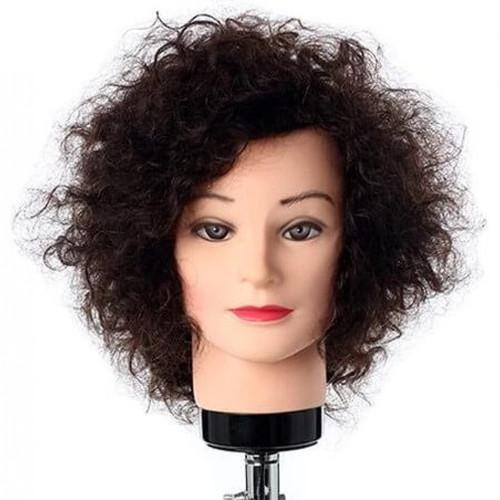 Hair Mannequin Tanya 100% Human Curly  Hair