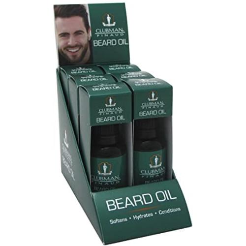 Clubman Beard Oil 1 oz 6pk