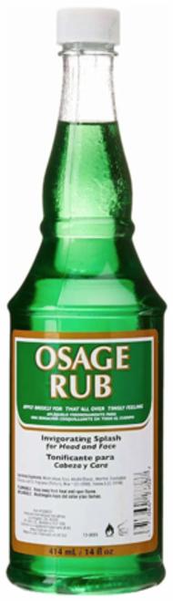 Clubman Osage Rub Invigorating Splash 14 oz