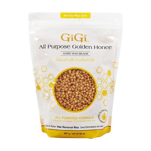 GIGi All Purpose Golden Honee Hard Wax Beads 14 oz