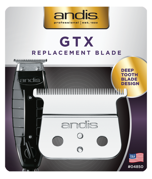 Andis GTX Deep Tooth Replacement Blade - Carbon Steel