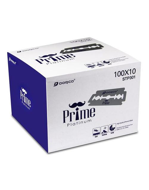 Dorco Prime Platinum Double-Edge Blades 10PK