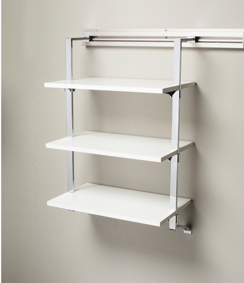 Arrange a Space RSU3 Adjustable Three Shelf Wall Mounted Kit