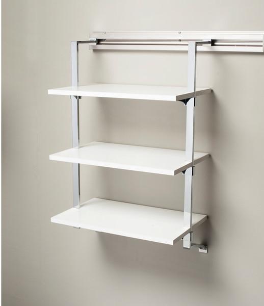 Arrange a Space RSU3 Adjustable Three Shelf Wall Mounted Kit