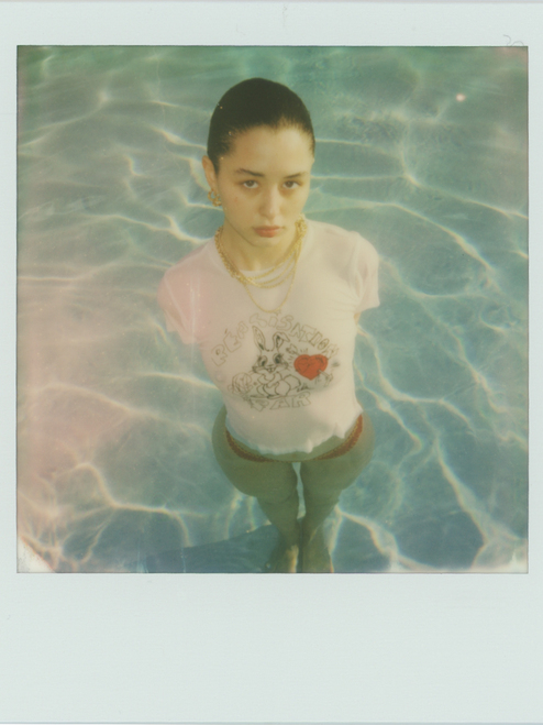 Bunny Tee - Red Heart