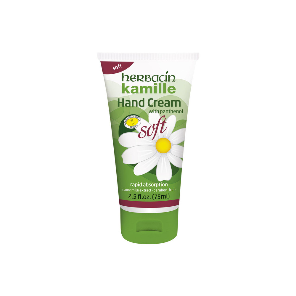 Herbacin kamille Soft Hand Cream - tube 2.5 fl.oz.