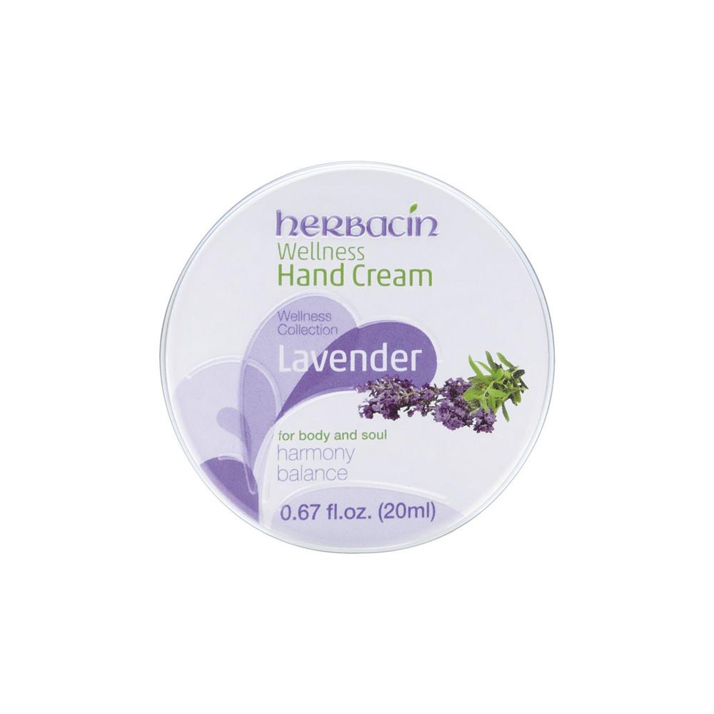 Herbacin Wellness Hand Cream Lavender 0.67 fl. oz. tin