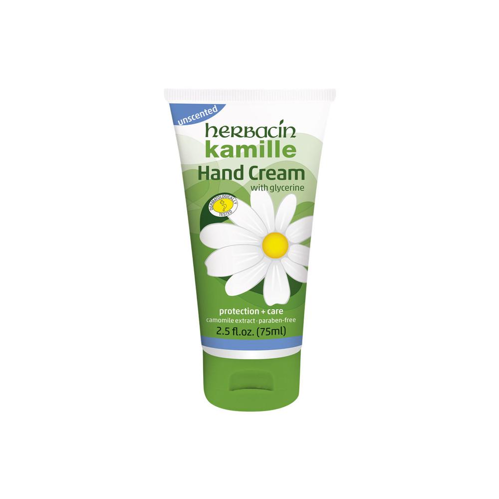 Herbacin kamille Hand cream - unscented - tube 2.5 fl. oz.