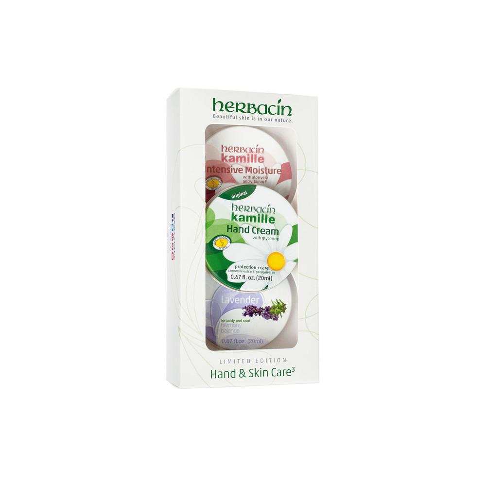 Hand & Skin Care   3 Tin Set - Green