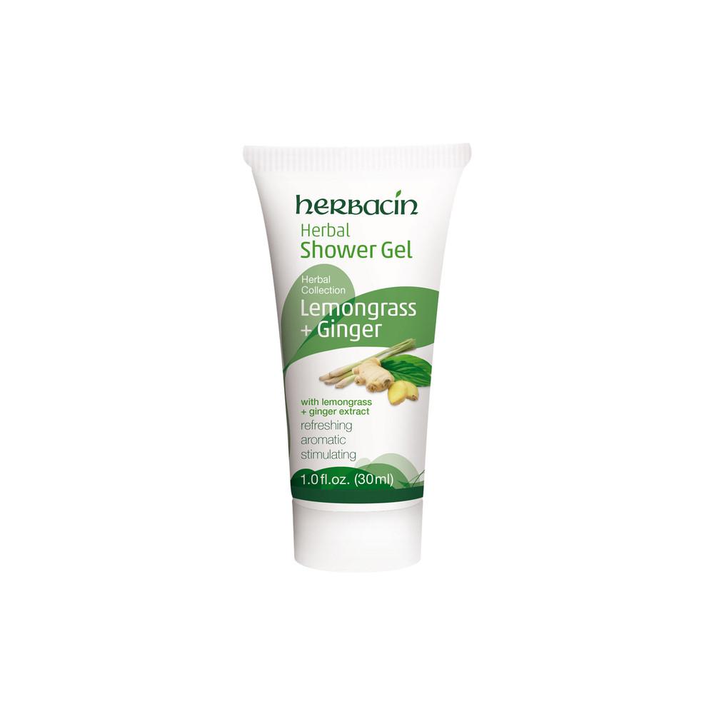 Herbal Shower Gel Lemongrass & Ginger 1.0 fl. oz.
