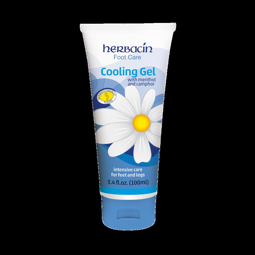 Herbacin Foot Care Cooling Gel - tube 3.4 fl.oz.