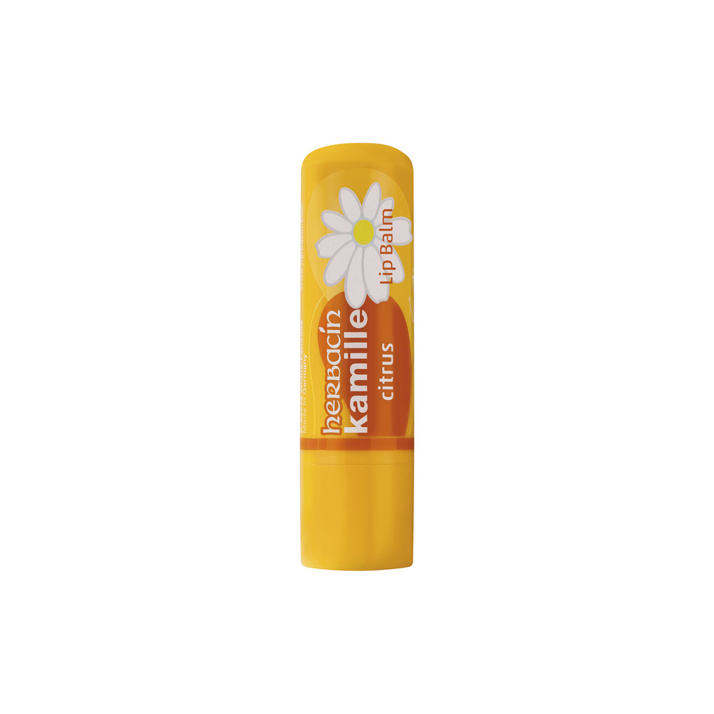 Herbacin kamille® Mint and Citrus Lip Balm As Delicious As It Is Effective