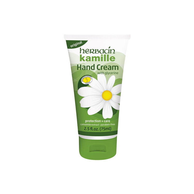 Herbacin kamille Hand Cream - flip-top tube 2.5 fl.oz.