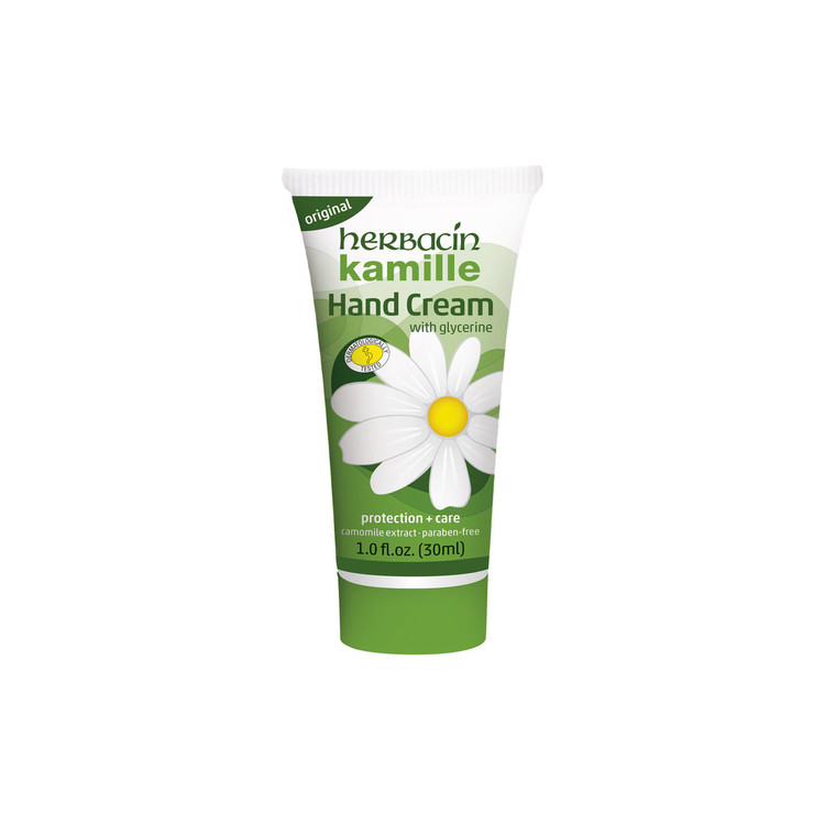 Herbacin kamille Hand Cream | Original - tube 1.0 fl.oz.