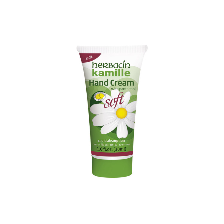 Herbacin kamille Soft Hand Cream - tube 1.0 fl.oz.