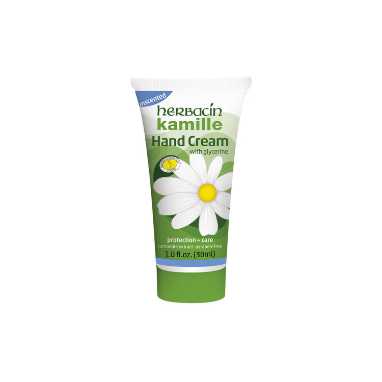 Herbacin kamille Hand cream | Unscented - tube 1.0 fl. oz.