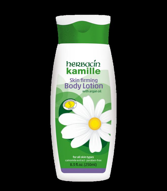 Herbacin kamille Body Lotion - with Argan Oil - bottle 8.3 fl.oz.