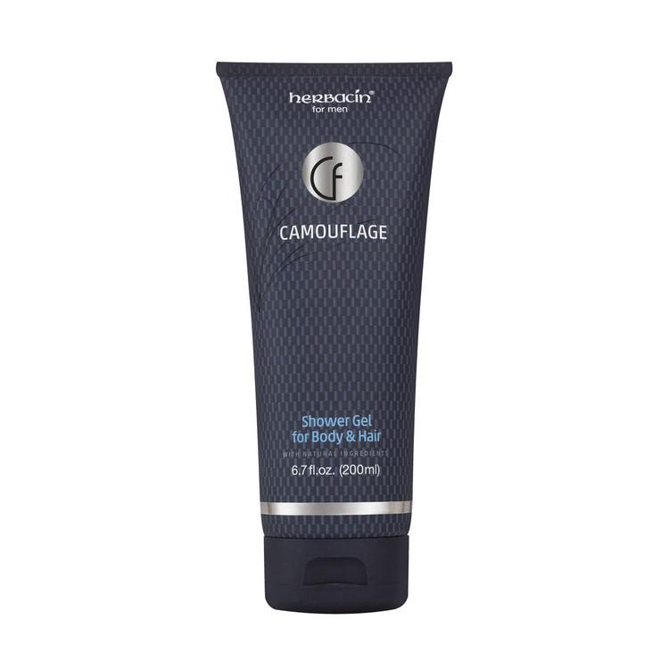 Camouflage Shower Gel for Body & Hair 6.7 fl. oz.
