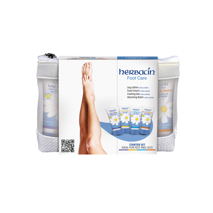 Herbacin Foot Care Starter Set