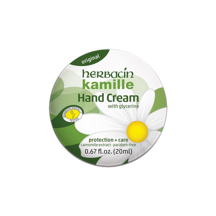 Herbacin kamille Hand Cream - tin 0.67 fl.oz.