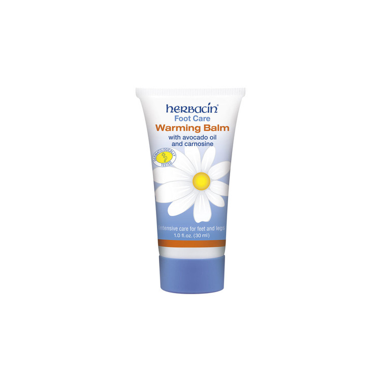 Herbacin Foot Care Warming Balm - tube 1.0 fl.oz.