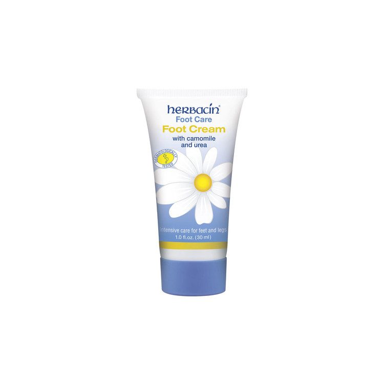 Herbacin Foot Care Foot Cream - tube 1.0 fl.oz.