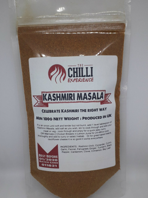 Naga Masala Seasoning - SALT FREE - 100g - The Chilli