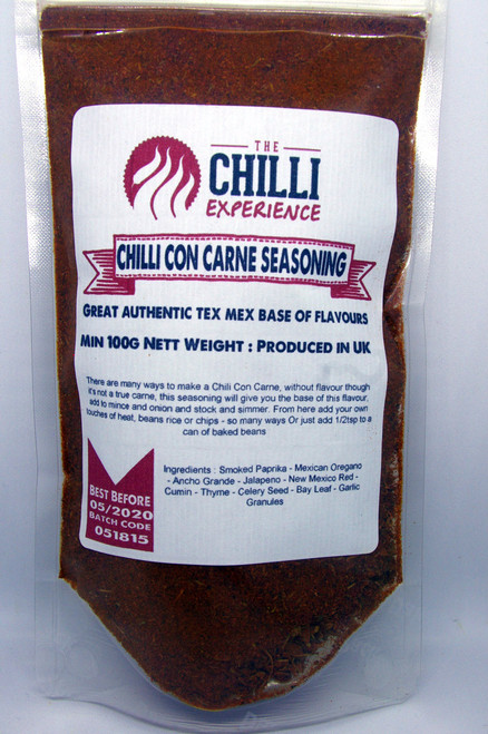 Chilli Con Carne Seasoning - SALT FREE - 100g