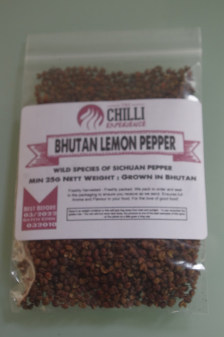 Bhutan Lemon Sichuan Pepper - 25g