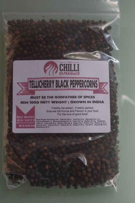 Black Peppercorns - 100g