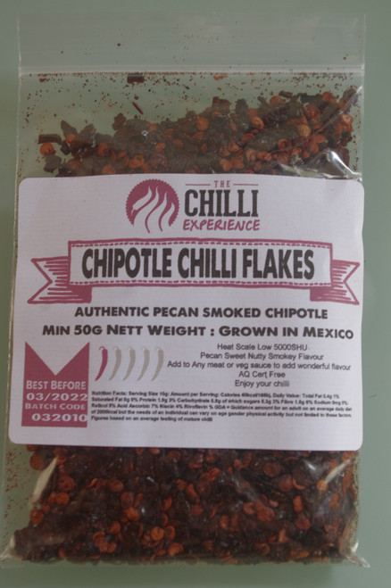 Chipotle Chilli Flakes - 50g