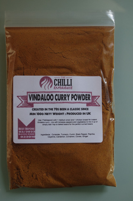 Vindaloo Curry Powder -  100g