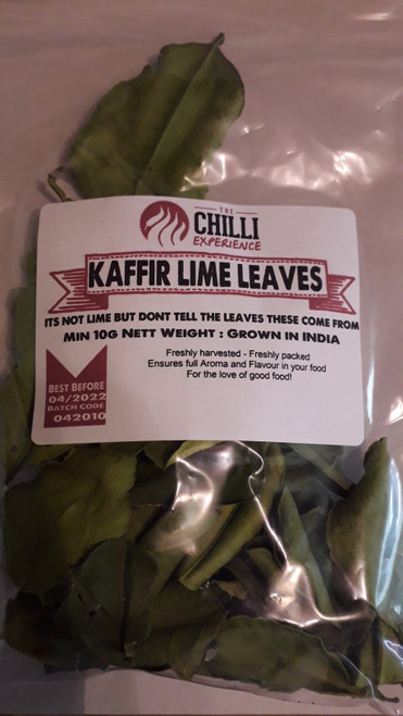 Kaffir Lime Leaves - 10g