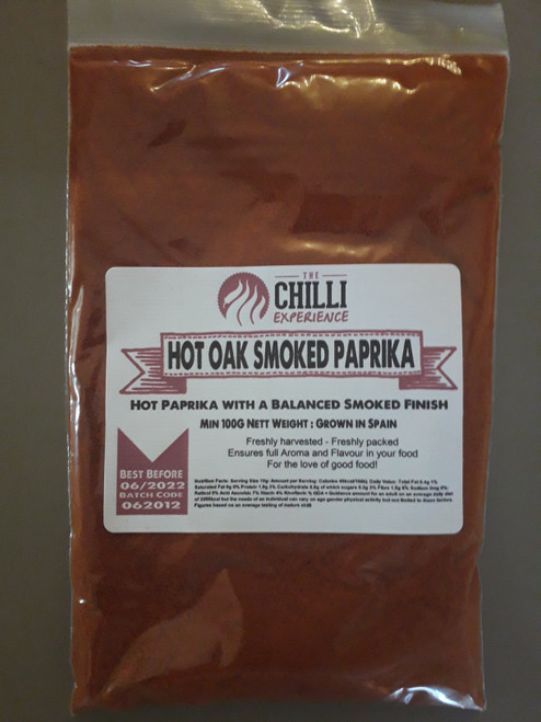 Hot Oak Smoked Paprika - 100g