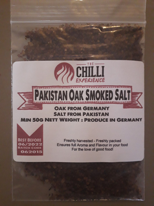 Pakistan Oak Smoked Sea Salt - 50g